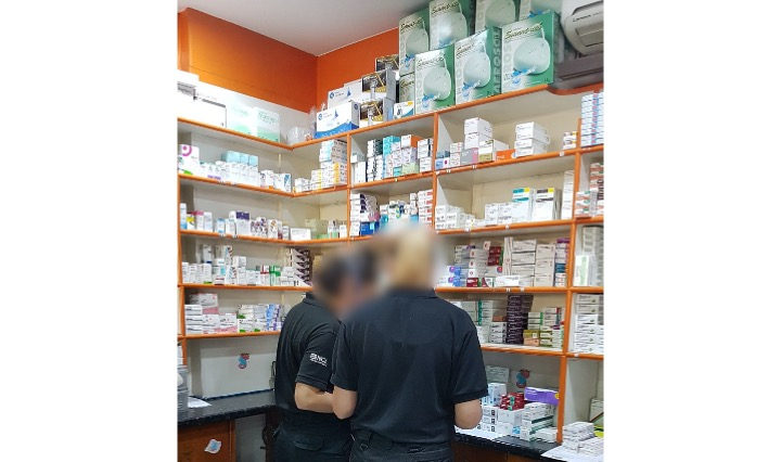 Pharmacist and surveyor arrested over coronavirus testing kits, thousands of pounds seized and website taken down