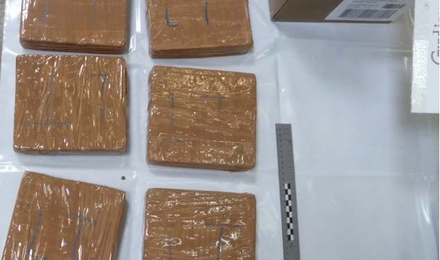 Irish lorry driver charged over heroin and cocaine hidden in chocolates