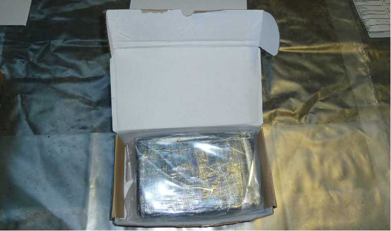 Lorry driver hid cocaine worth £160k in overhead locker
