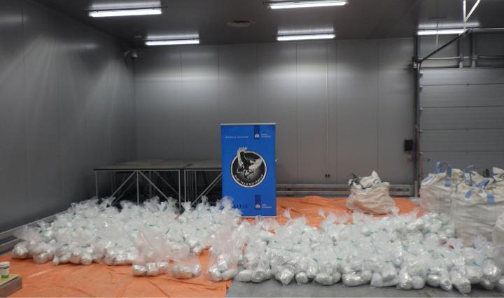 Image showing seizure of 1.5 tonnes of heroin.
