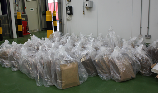 Drug traffickers jailed for importing £32m cocaine haul hidden in yams