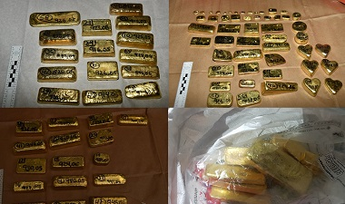 Gold seized by NCA at Heathrow as part of international cartel investigation