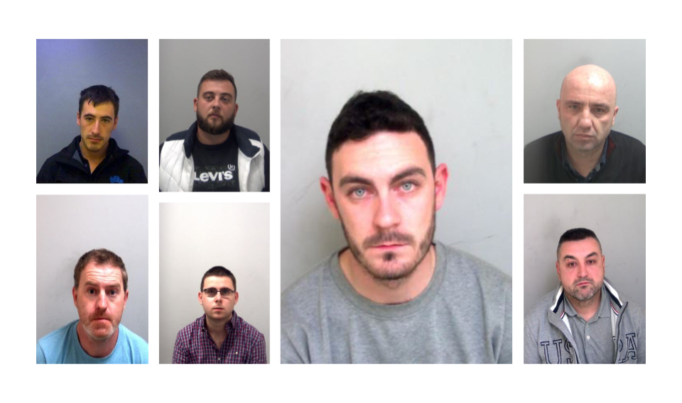 Jail terms of more than 92 years for seven men involved in Essex migrant death tragedy