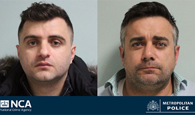 Two jailed for West London cocaine handover