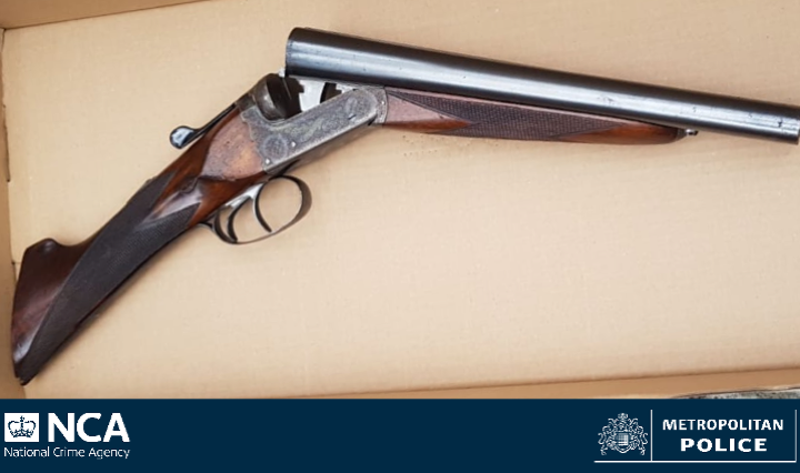 Couple charged after shotgun recovered in Ladbroke Grove