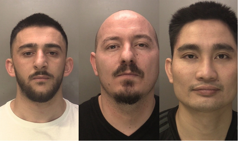 Three jailed for running 'industrial' million pound cannabis farm in Coventry nightclub