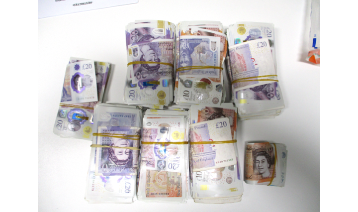 Trio arrested as more than £60k cash seized in Birmingham