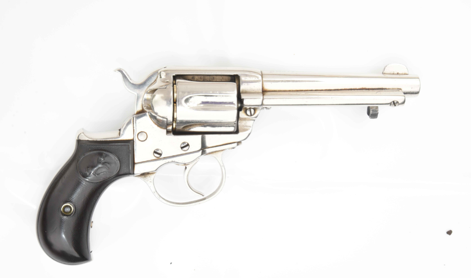 Image showing seized handgun.