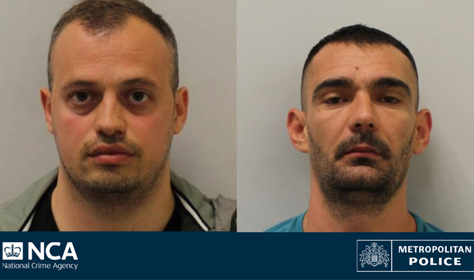 Drug dealers jailed after £300k of cocaine and handgun found in London flat