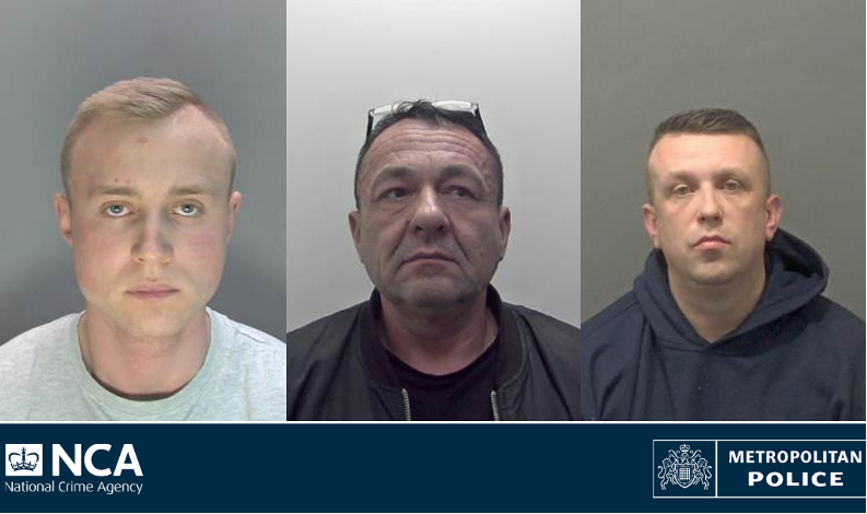 Prison for £2m drugs gang after investigators uncover illegal firearms and ammunition