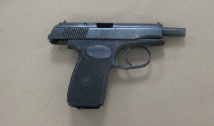 Three lethal firearms seized in Isle of Dogs