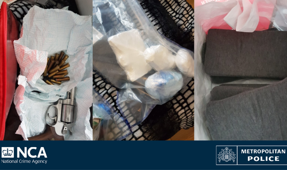 Man charged as NCA and Met officers seize Ilford bedroom cocaine and gun stash