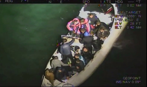 Joint UK-French unit sees almost 100 suspected people smugglers arrested, as law enforcement steps up fight against organised immigration crime