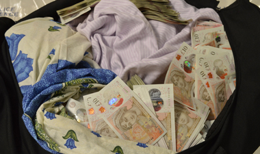 Closed case! Plane passenger with £1.5M in baggage ordered to give it up