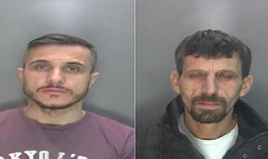 Albanian men jailed for drug dealing