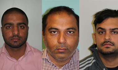 Accountant and two bankers jailed for stealing £390k from customers